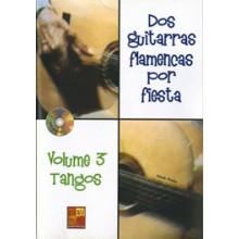 19228 Claude Worms - Dos guitarras flamencas por fiesta. Tangos Vol. 3