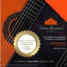 29983 Set de cuerdas guitarra Solera Flamenca Acompañamiento tensión media-alta