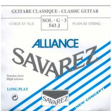 14162 Cuerda Savarez Clásica 3a Alliance Azul 543J