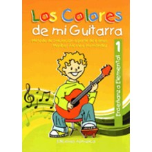 19507 Maribel Alcolea Hernández - Los colores de mi guitarra. Método de iniciación a partir de 6 años