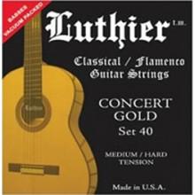 20130 Luthier Concert Gold 40. Tensión Media/Fuerte