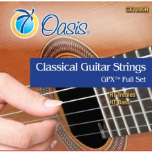 24998 Cuerdas Oasis Classical Guitar Strings Plus + GPX TM Full Set Tensión Alta