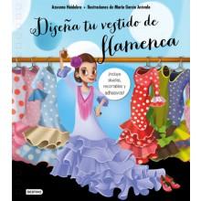 28611 Diseña tu vestido de flamenca - Azucena Huidobro, Ilustraciones Mario Carcía Arévalo