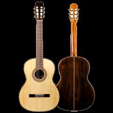 Guitarra Flamenca artesanal Antonio de Toledo modelo AT-16 negra