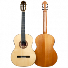 Guitarra flamenca Martinez Modelo MTZ MFG-AS EF EQ Fishman PSY-301