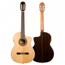 Guitarra Flamenca Martínez - Modelo MFG-RS CEF electrificada cutaway