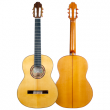 HERMANOS SANCHIS LOPEZ GUITARRA FLAMENCA CIPRÉS MODELO 1F EXTRA color oro 2019
