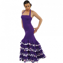 Vestido para flamenco con volantes E4393