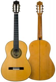 Guitarra flamenca artesanal Juan Álvarez, modelo Y-8F