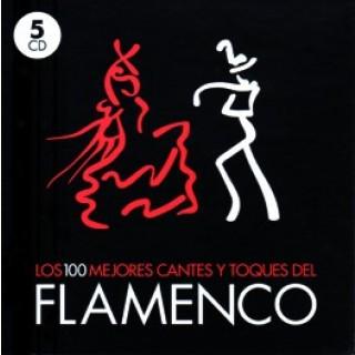 Los 100 mejores cantes y toques del flamenco (5 CD)