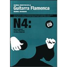 10281 Manuel Granados Manual didáctico de la guitarra flamenca Vol 4