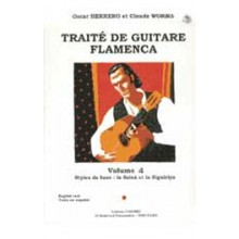 12344 Oscar Herrero & Claude Worms - Tratado de guitarra flamenca. Vol 4