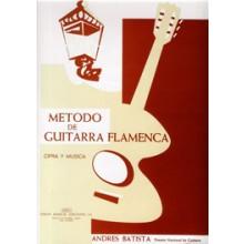 12514 Andrés Batista Metodo de guitarra flamenca