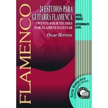 14597 Oscar Herrero - 24 Estudios para guitarra flamenca