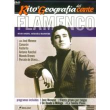 15555 Rito y geografía del cante Vol 5 - José Menese. Fiesta gitana por Tangos. De Ronda a Málaga. La Familia Pinini