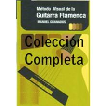 19383 Manuel Granados - Método visual de la guitarra flamenca. Pack Vol. 1, 2 y 3