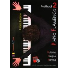 19637 Carlos Torijano Carrasco - Piano Flamenco Vol. 2 Método: Bulerías, Tangos, Rumba
