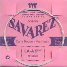 25589 Savarez Cuerda 5 Carta Roja 525R HT