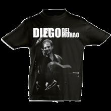 Camiseta Hombre Negra Diego del Morao