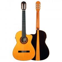 Guitarra flamenca Felipe Conde FP14NACW estudio profesional cutaway palosanto y arce