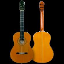 Guitarra Juan Montero 1979 colección particular Luis Pastor