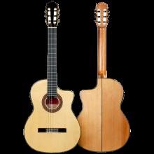 Guitarra flamenca Martinez ES-08S-CE cutaway electroacústica
