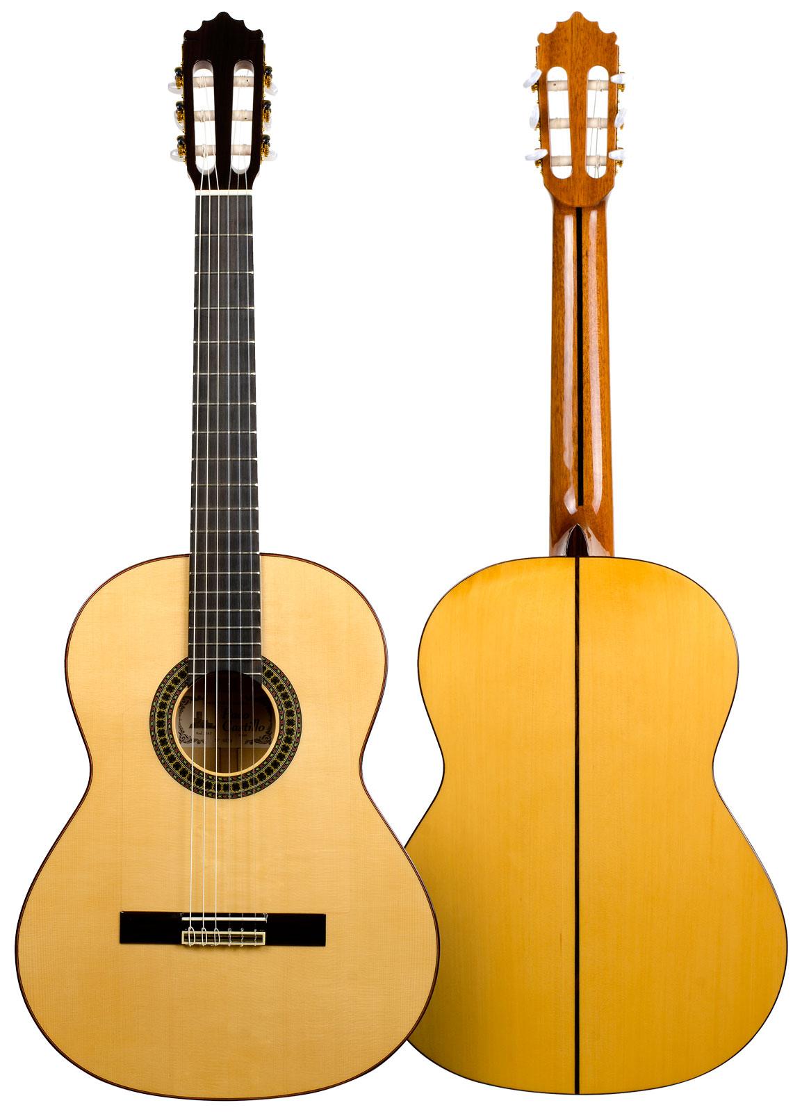 El Flamenco Vive Flamenco Guitar Paco Castillo 213f