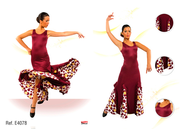 Vestido E4078 Happy Dance