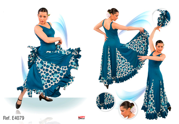 Vestido E4079 Happy Dance