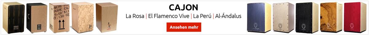 Flamenco Cajon, großen Marken