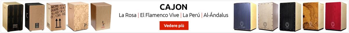 Flamenco Cajon, grandi marchi
