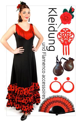 Flamenco Kleidung und Accessoires