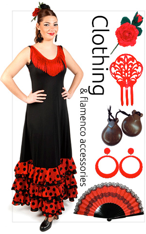 Flamenco clothing and accessories