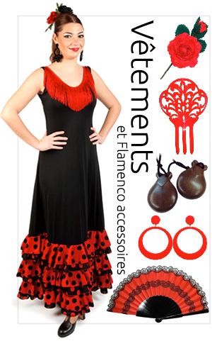 Vetements et accessoires Flamenco