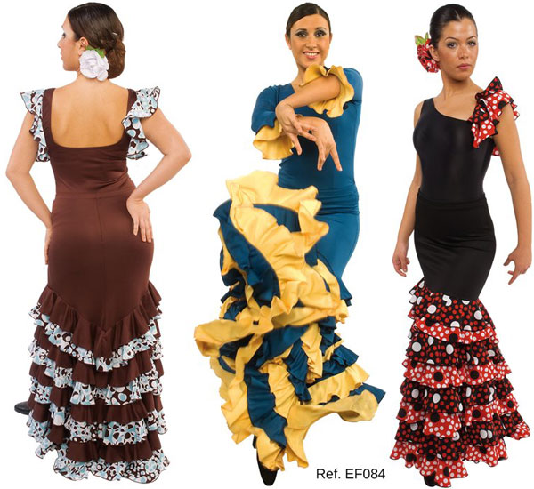 Falda baile flamenco EF084 Happy Dance
