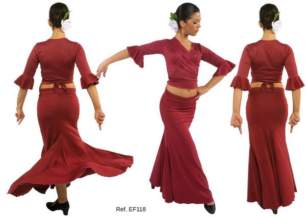 Falda flamenca EF118