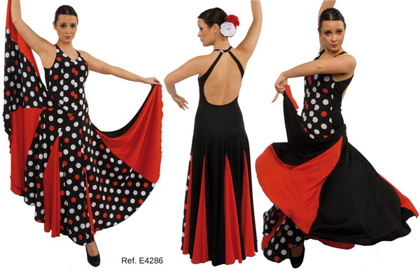 Vestido E4286 Happy Dance