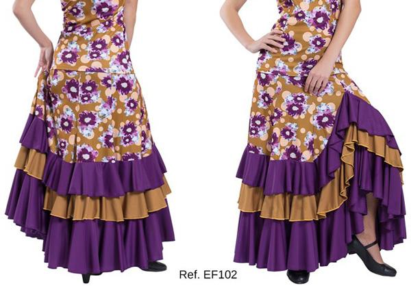 Falda EF102 estampada Happydance