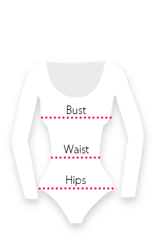 Measurements for Bodys and Maillots