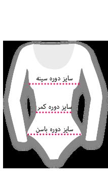 medidas para bodys y maillots mujer
