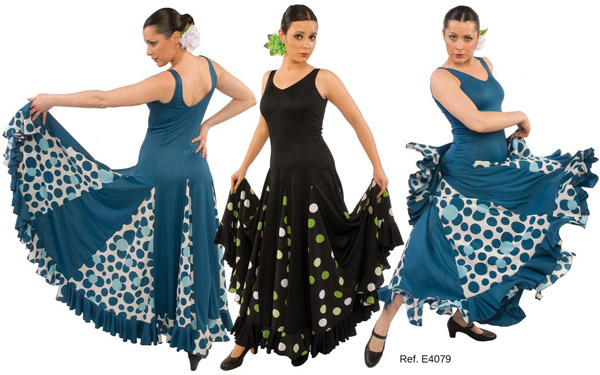 Vestido E4079 Happy Dance